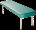 מיטת טיפולים קבועה מאלומיניום