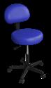 כסא מטפל עם משענת ללא חישוק
